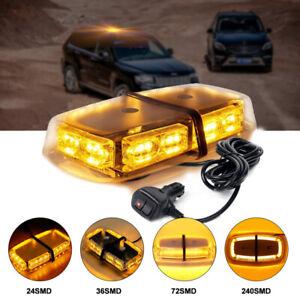 24-36-72-240-LED-Car-Roof-Strobe-Light-Bar-Emergency-Beacon-Warning-Flash-Lams