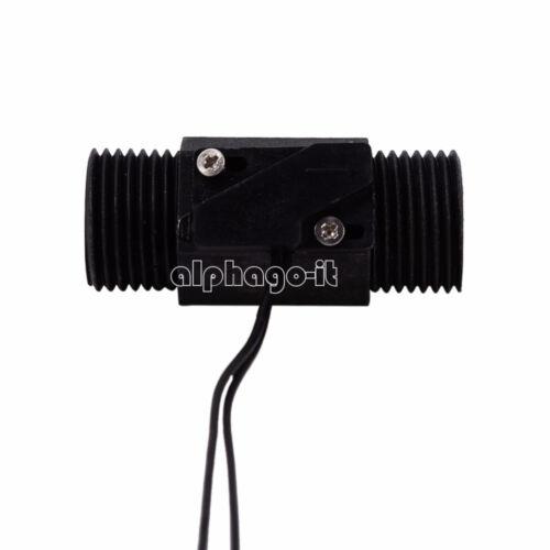 "AC 220V 3A 1//2/"" Plastic Magnetic Water Flow Switch Vertical Horizontal w//Sensor"