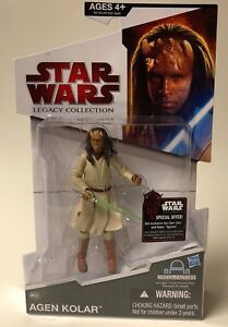Star Wars 2009 Legacy Collection BuildADroid Action Figure Agen Kolar Hasbro Star Wars Legacy Collection