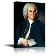 Johann Sebastian Bach 1725 Organ Portrait 11x8 Inch Print