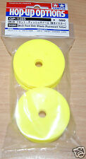 Tamiya 54285 DN-01 Front Dish Wheels (Fluorscent Yellow) (TRF201/TRF211/Zahhak)