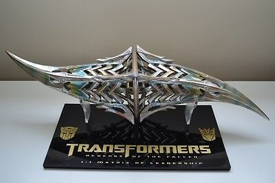 1:1 Pristine Matrix of Leadership (Transformers Revenge of the Fallen) Prop
