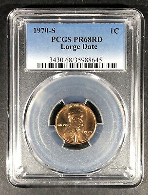 Get $5 Off!! 1963 Proof Lincoln Memorial Cent PCGS PR-68 RD Buy 3 Items