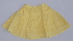 Ex-Monsoon-Cut-Label-Summer-Skirt-Yellow-6-12-Months-NWOT