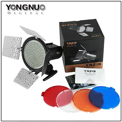 Yongnuo YN-216 3200K-5500K LED Studio Video Light F Canon Nikon Sony Camcorder