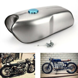 Cafe-Racer-Universel-Personnalise-9L-2-4-Gallon-Essence-Reservoir-a-Carburant