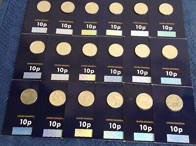 A Z 2018 Letter B 10p Coin James Bond 007 Genuine Hologram Mint Condition Ebay