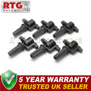 6x Pencil Ignition Coil Packs Fits Jaguar S-Type 3.0