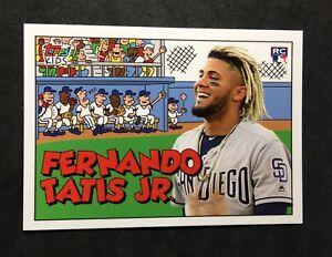 2019-Topps-Throwback-Thursday-Fernando-TATIS-Jr-RC-TBT-ROOKIE-1992-Kids-Bonus