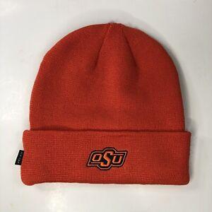 Details about Nike Dri-Fit Oklahoma State Cowboys Orange Knit Beanie Men's  One Size