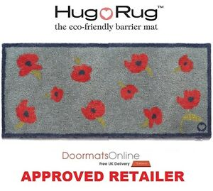 Hug rug 150x65cm home 30 poppy flower dirt trapper door mat image is loading hug rug 150x65cm home 30 poppy flower dirt mightylinksfo