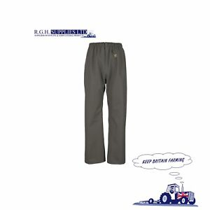 Guy Cotten Pouldo Trousers Mens Waterproof Farming PVC Coated T420 Fabric