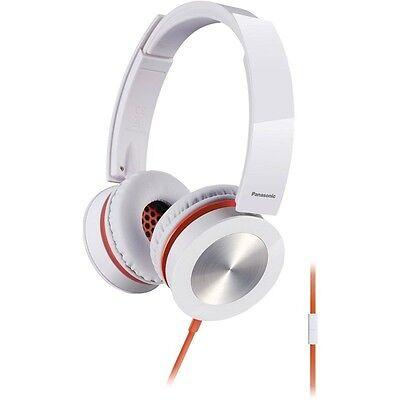 Panasonic RP-HXS400M-W Sound Rush Plus On-Ear Headphones RPHXS400M