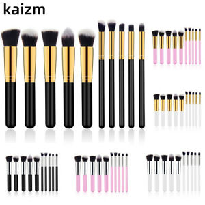 10Pcs-Makeup-Brushse-Tool-Kits-Cosmetic-Beauty-Eyeliners-Contour-Face-Lip-Brush