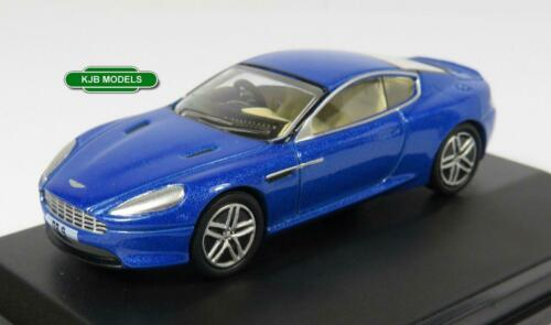 BNIB OO GAUGE OXFORD 1:76 76AMDB9003 ASTON MARTIN DB9 COUPE BLUE SORTS CAR
