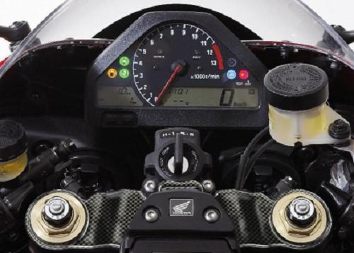 ADESIVO PIASTRA STERZO PARAZIP MOTO PRINT CARBOON LOOK HONDA 1000 CBR 04-07