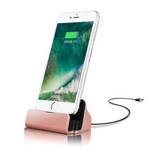 P63-Dock-Dockingstation-mit-1m-Kabel-USB-Lightning-Ladegeraet-Ladestation-iPhone