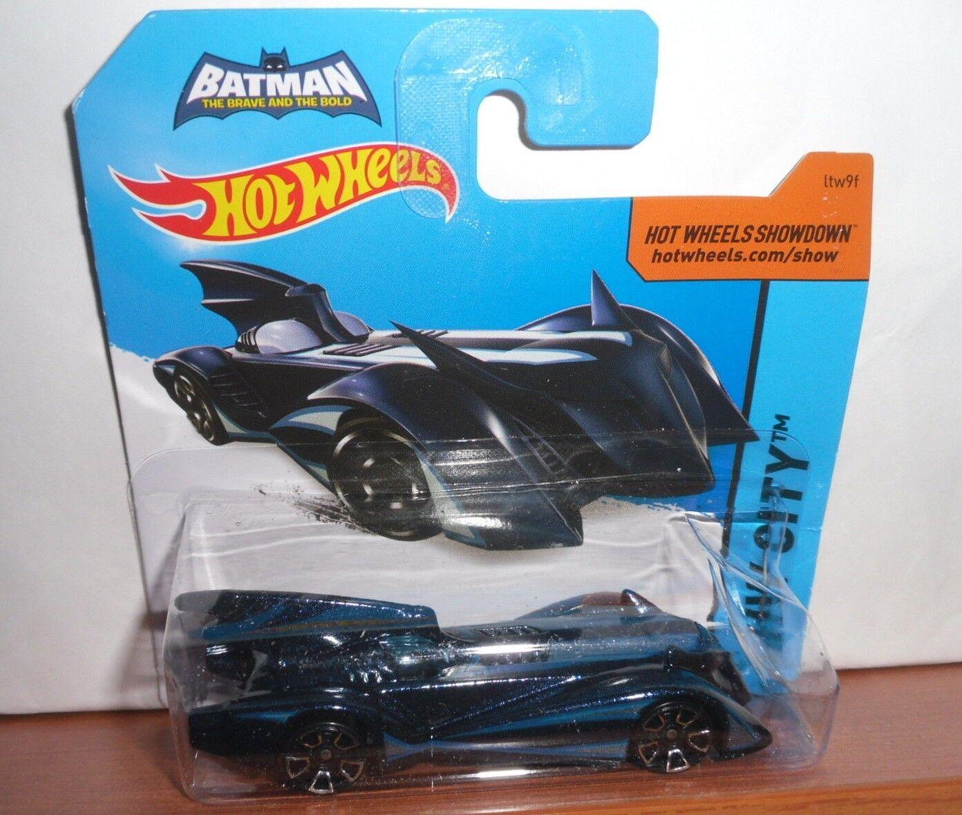 Mattel Hot Wheels BATMAN The Brave & The Bold New Boxed Batmobile MOC Purple blue
