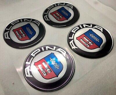 Gutherzig 4x Bmw Alpina Round Logo 3d Gewölbte Aufkleber. Größe 50 Mm Mit Einem LangjäHrigen Ruf
