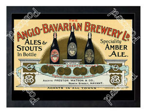 Historic-Anglo-Bavarian-Brewery-Shepton-Mallet-c-1890-Advertising-Postcard