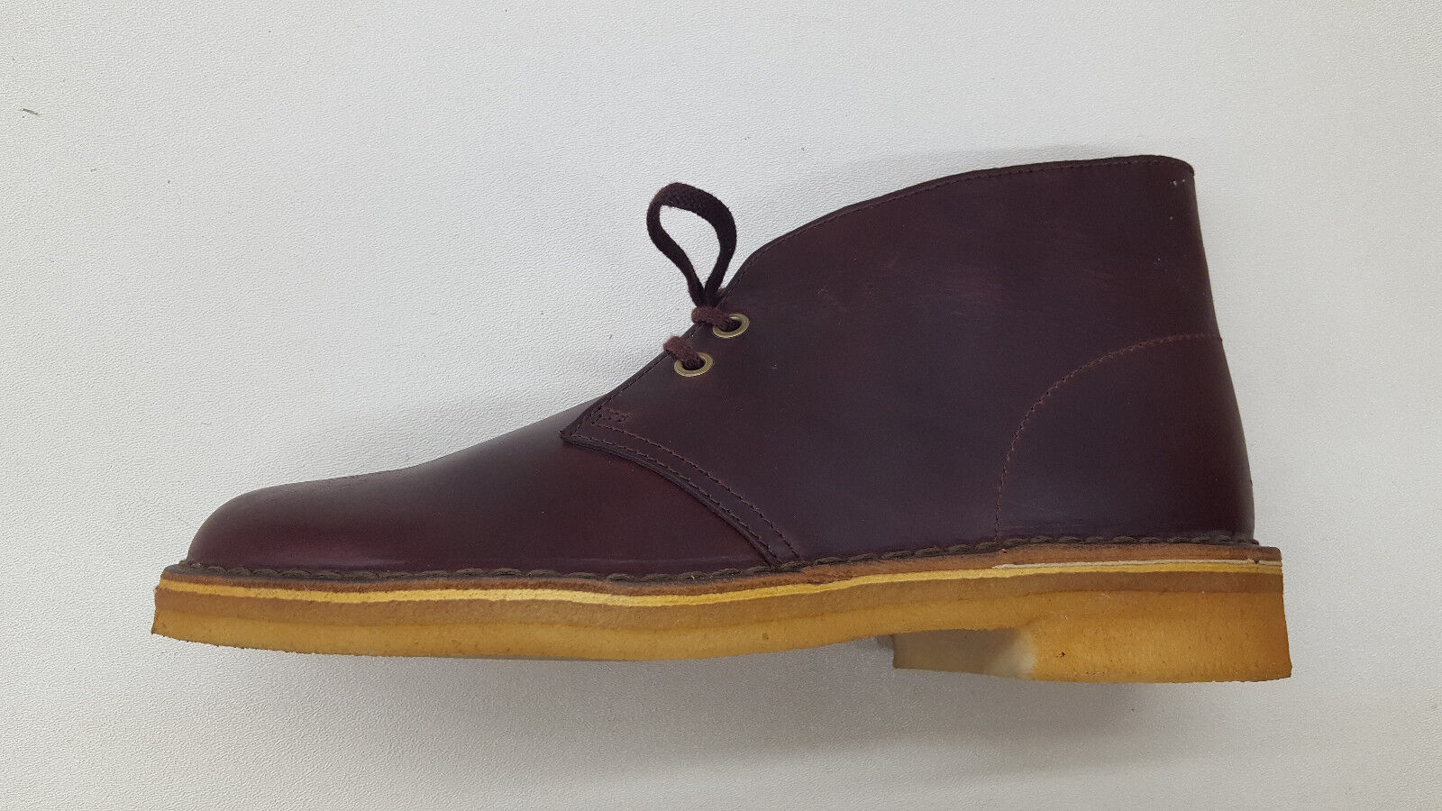 89fb5dbcc7788 CLARKS ORIGINALS DESERT BOOT HORWEEN HORWEEN HORWEEN BURGUNDY LEATHER MENS  SHOES BOOTS 09441 d75db0 ...