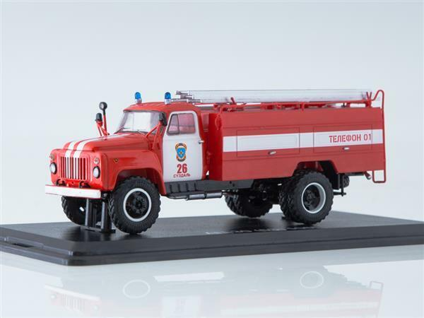 SSM GAZ-53 Fire Engine AC-30(53)-106G  1 43 1337