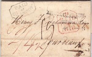 Lettre-Glasgow-Paid-pour-la-France-gt-gt-Marque-D-entree-Angleterre-TTB-1816-Cover