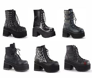 Demonia Ranger 208 Ankle Boot (Women's) mYZhCXIz0