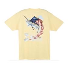 Guy Harvey Lancer S//S Fishing Boat Bass Fish Pocket T-shirt..Pick Size..Charcoal