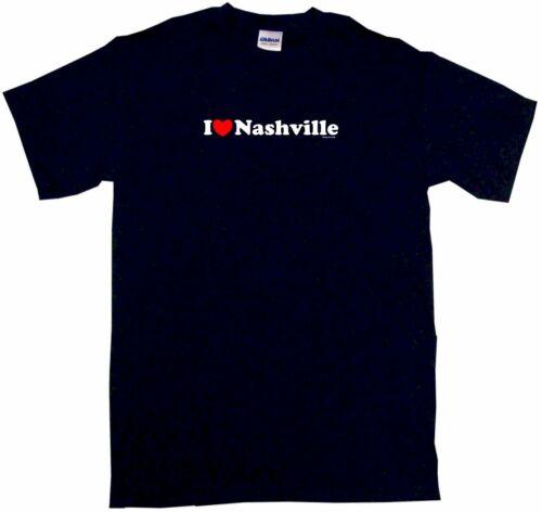 6XL /& Color I Heart Love Nashville Men/'s tee Shirt Pick Size SM