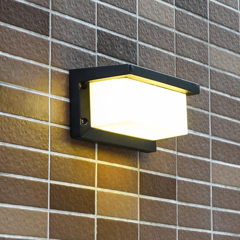 10W 20W LED Iluminación de jardín al aire libre luz Apliques De Parojo Lámpara Impermeable Verojoa