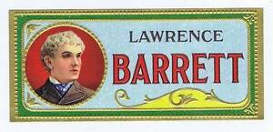 Lawrence Barrett, Original Externe Cigare Boîte Label, Homme Zfj9oczy-07235227-816564144