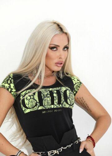 BY ALINA Damenshirt Shirt Top Tunika Bluse Longshirt Oberteil 34-38 #C834