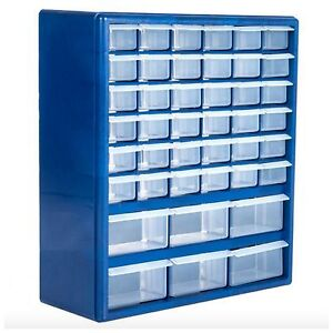 Image Is Loading Compartment Storage Box Small Parts Drawer Cabinet  Organizer