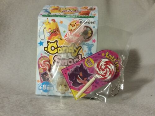 Pokemon Snack Candy Re-Ment Keychain Figure