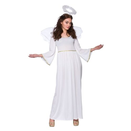 Onorevoli NATALE ANGELO CON ALI /& HALO presepe Adulto Costume