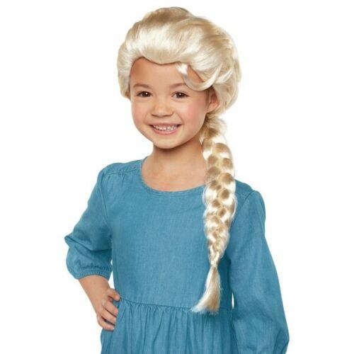 Disney Frozen 2 Elsa Perruque Cheveux Dress Up Fun accessoires Kids coiffure NEUF 2019