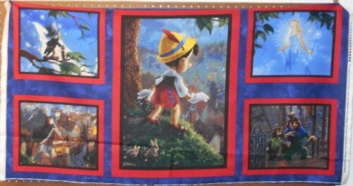 "1 Panel David Textiles /""Pinocchio/"" Fabric Panel 24/"" x 44/"""