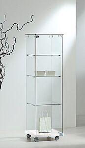 Dettagli su Vetrina vetrinetta vetro cristallo nuova modellismo modellini  per collezionisti