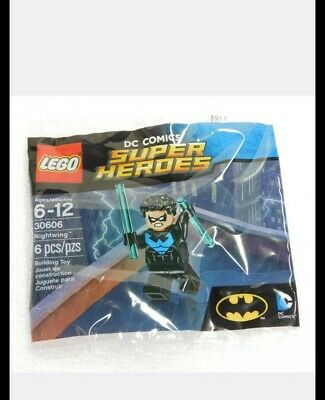 """New 2016 LEGO Super Heroes #30606 """"Nightwing"""" Robin Minifigure Polybag RETIRED"""