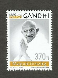 Details about 2019 Hungary Gandhi Single Stamp to commemorate 15th Birth  anniv  of Gandhi