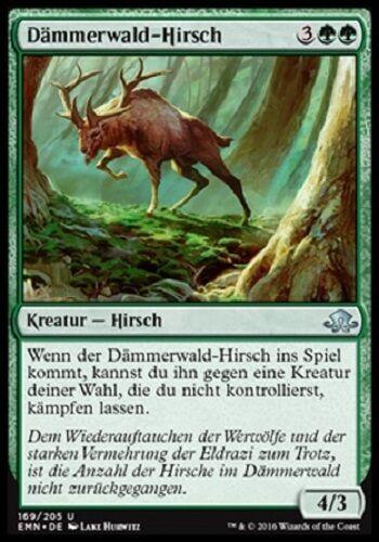 4 Somberwald Stag//dämmerwald-Hirsch Comme neuf, düstermond, allemand
