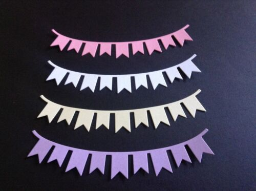 12 x Party Bunting various colours **FREE POSTAGE**