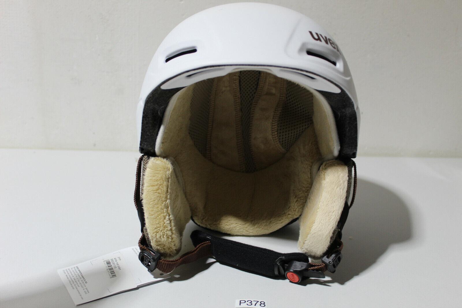 Casco de uvex jimm blancoo Mat loden, tamaño 55 - 59 cm, blancoo (p378 - r27)