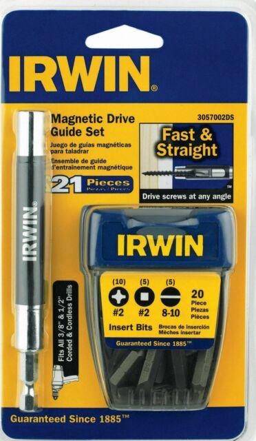 Irwin  Hex  Impact Drive Guide Set  Steel  6 pc.