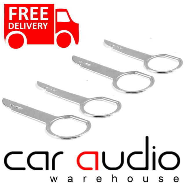 Autoleads PC5-132 AUDI Car Radio Stereo Removal Release Keys (2 Pairs)
