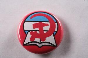 KARL MARX MARXISM COMMUNISM SOCIALISM BADGE BUTTON PIN