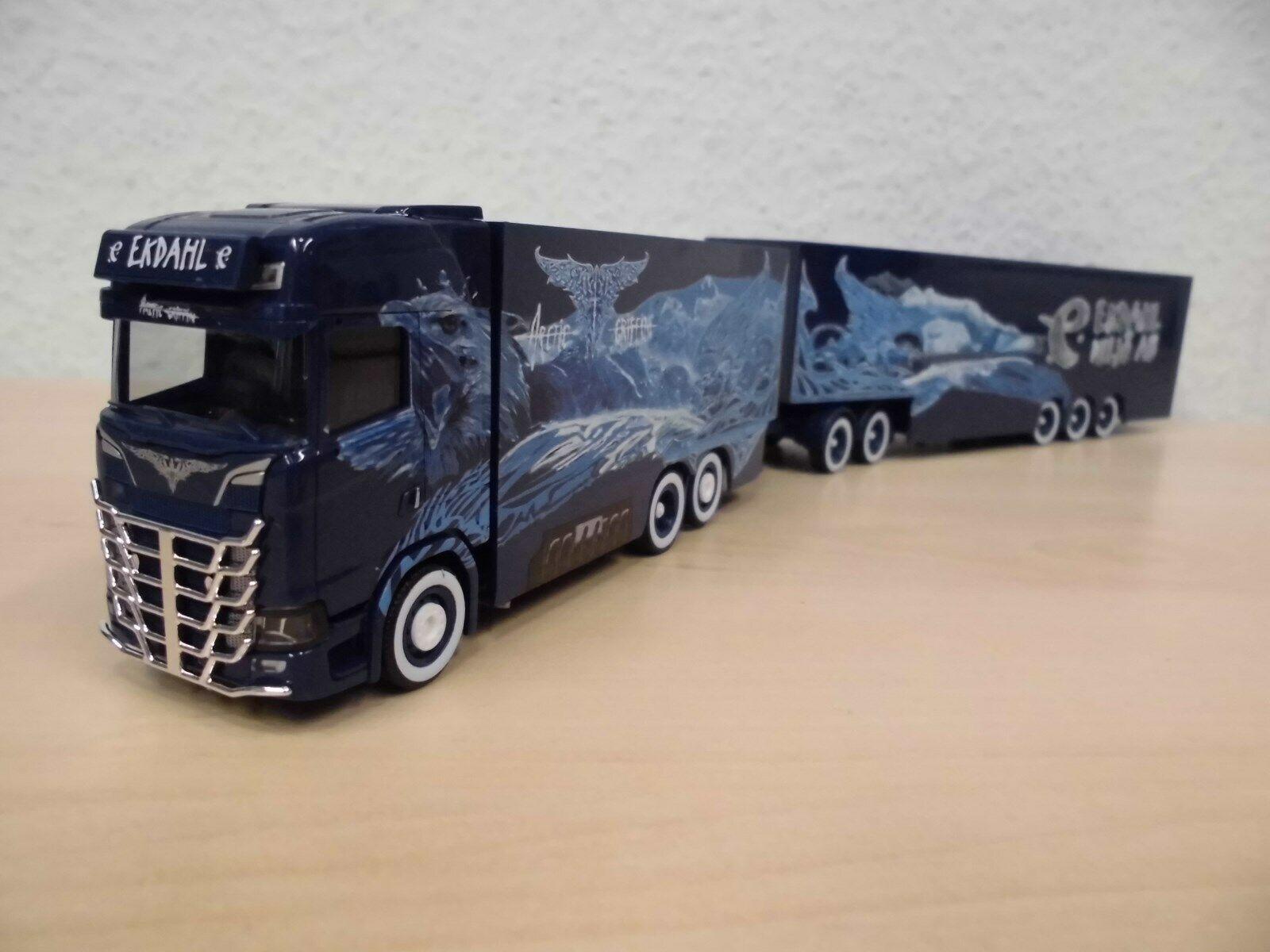 Herpa-Scania CS megatráileres EuroCombi  Ekdahl Arctic Griffin  - 307864 -1 87