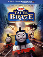 Thomas  Friends: Tale of the Brave - The Movie (Blu-ray Disc, 2014, 2-Disc Set)