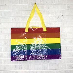 IKEA KVANTING Rainbow Bag Shopping Storage Gay Pride LGBT LGBTQ Buy More /& Save